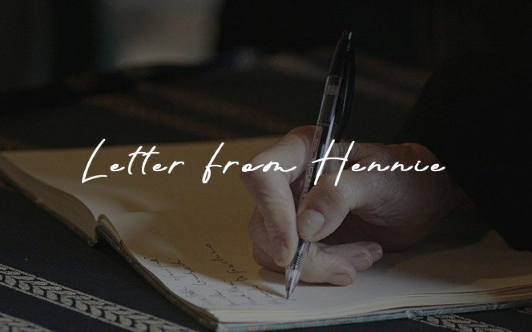 Letter from Hennie | December 2018